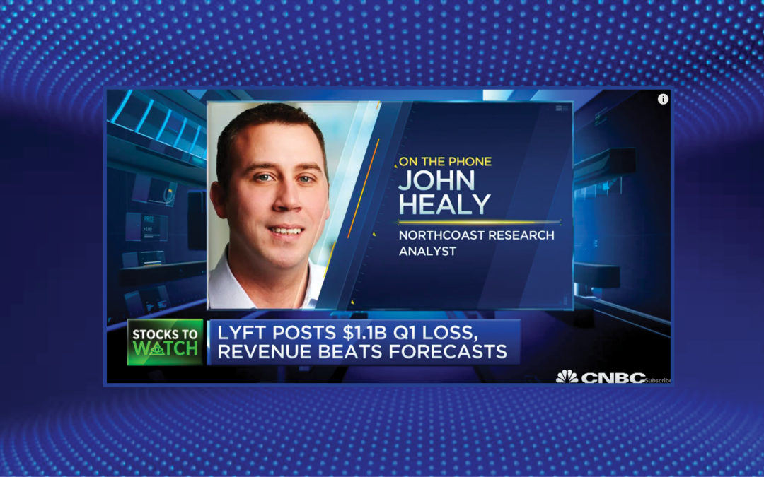 John Healy Discusses Lyft's Earnings on CNBC